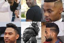 Barba e Cabelos afros