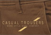 Men's Casual Trousers / Casual Trousers