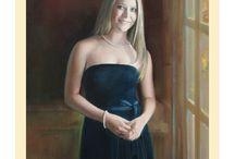 Senior Oil Portraits / Senior Oil Portraits hand painted by Leon Loard Oil Portraits