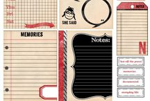 Paper craft / Idees Journal craft