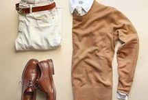 Vestimenta semiformal hombre