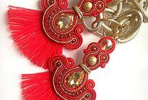 Soutache jewellery