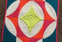Quilt - Kurve und Kreis / Quick Curve Ruler Patchwork Quilten Sew Kind ogf Wonderful Kurven Kreise Circle