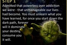 The 12 Steps of Yoda / addiction, recovery, rehab centres, ARC, addict, rehab, treatment plans, treatment philosophy, admission, detox, private facility,alcohol, addiction clinic, treatment, holistic, addiction drug
