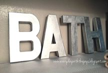 Bathroom decor / Everything you need to decorate your bathroom on a budget!