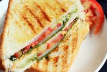Sandwich And Quesadilla