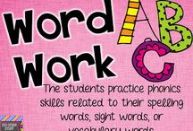 word work / by Karen Baker