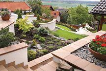 Дизайн сада / Интересные идеи ландшафтного оформления