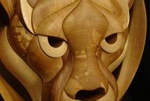 houten beelden