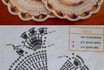 Agarraderas y otras cositas al crochet