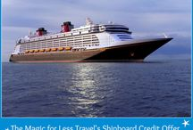 Disney Cruise Line Discounts - Codes, Offers, Onboard Credit and Promotions / Learn how to spend less time, energy and money when planning a Disney Cruise Line Vacation.  Sail on the Disney Dream, Disney Wonder, Disney Magic and Disney Fantasy.  Visit Castaway Cay and other exciting ports of call.  Save with exclusive onboard credits when you book with The Magic for Less.