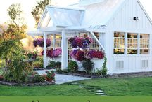Mini houses/gardens