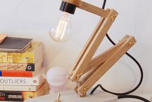 creatio wood lamp