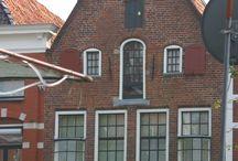 Stad Groningen / Enkele bezienswaardigheden vanaf het water in de stad Groningen.