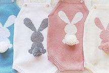 Crochet y punto para bebe