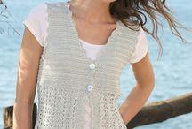 Crochet tops women