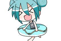 Voca-Chibis✨ / Hier findet man Bilder speziell zum Vocaloid Chibi Theme.