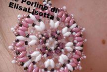 Le Perline di ElisaLisetta / creazione di collane, braccialetti e orecchini in perline usando tecniche diverse