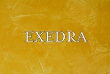 """Exedra / Vopsele minerale. Gama de vopsele minerale pe baza de var """"grassello"""", ideale pentru restaurarea finisajelor cum sunt stucaturile lucioase sau pentru decorarea si protejarea cladirilor istorice valoroase."""