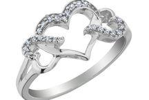 jewellery with hartshape