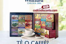 Tè o Caffè? / #codicedisconto #coffee #tea #caffe #te