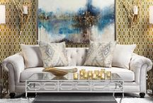 Living Rooms / Beautiful and interesting living rooms. / by Z Gallerie