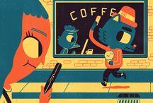 Harmony Cafe Illustrated