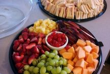 Food for Parties / Food for parties like bridal showers, baby showers, kids parties, and brunches.