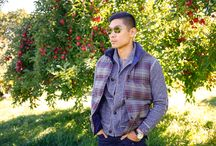 Levitate Fall Fashion / Menswear Style Outfit Inspirations for the Fall season - layering with blazers, vest, cardigans, boots, and more!