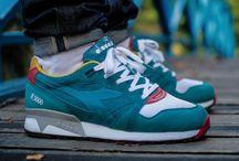 Sneakers / Sneakers, Kicks, Footwear.. Nike, Adidas, Puma, Asics, New Balance, Converse, Saucony..Just everything I like!