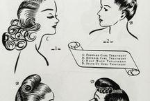 1940's Hair, Shoes, & Fashion