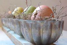 Vintage Easter Decorating