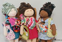 MamAmor Minis / There are our gorgeous MamAmor Minis, a new version of MamAmor dolls, a simpler version of MamAmor dolls, perfect for toddlers!