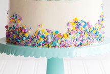 Sprinkle Cakes