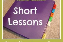 Homeschooling: short lessons