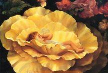 Картины Мэри Бакстер.