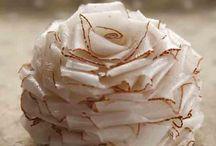 Rosa de fatias de Coco.