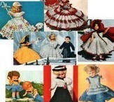 Vintage toy and doll patterns
