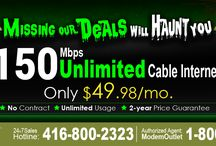 Halloween Day Offers- Internet Deals