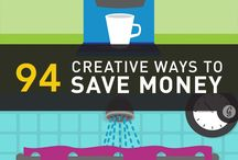 Budget tips / How to save$$$$$  / by Georgette Eirich