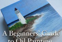 Oil painting / New hobby