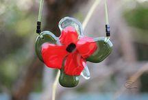 Flores arcanum / Virágos üveg ékszerek