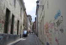 Portals, Windows, Narrow Streets, and Street Art / Photos taken in Europe