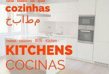 COCINAS - KITCHENS - CUISINE - / El mejor ambiente de la casa, definitivamente La Cocina. Estas nos encantan