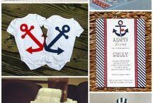 Nautical Baby Showers