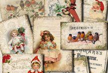 { VINTAGE GERMAN POST CARDS & PAPERS } } / by Pamela Goulart