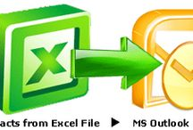 Sync XLS Contacts to PST