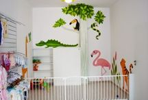 Magda Supercolor / artistic wall painting, hand made