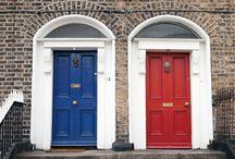 Exterior Door Color Pops