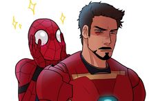 Daddy!Tony and his Son!Peter / Spider-Man Homecoming gave me feels!!